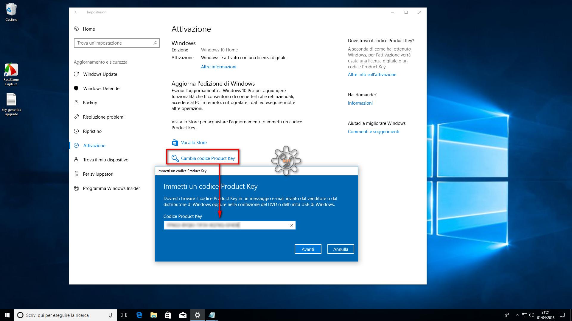 windows 10 free key 2018