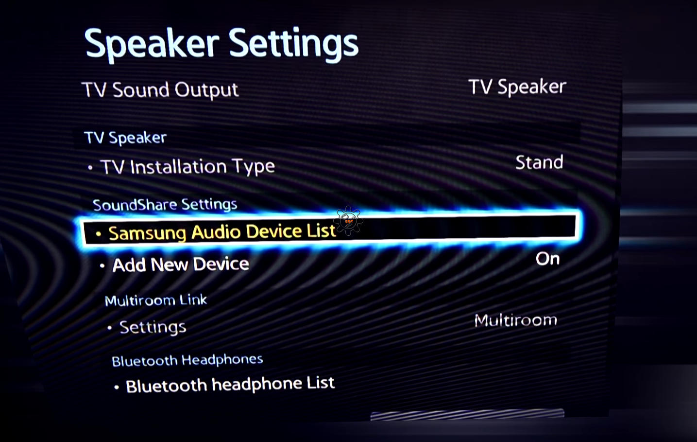 how to connect bluetooth headphones to samsung smart tv
