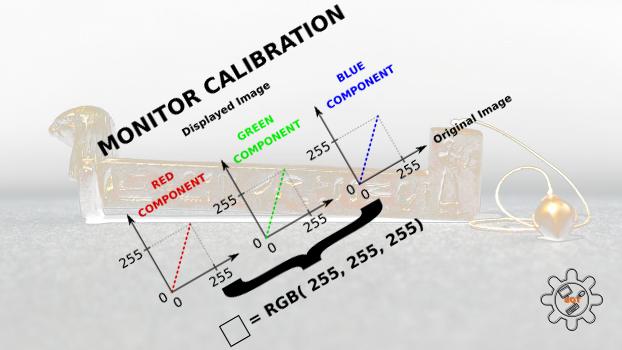 Calibrazione del monitor tra luce ed ombra: progetto Merkhet-RGB, istruzioni per l'uso