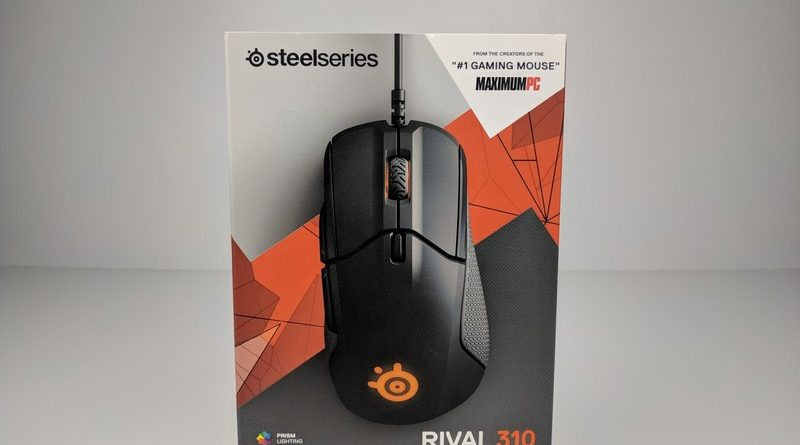 Rival 310, Steelseries Gaming mouse