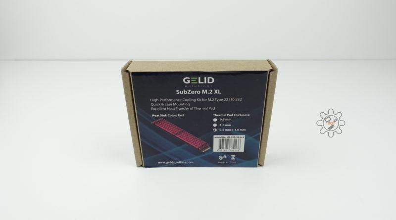 SUBZERO M.2 XL SSD COOLING KIT